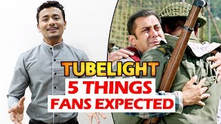 Salman Khan's Tubelight - NEW STORY By FANS - Why FANS Are Disappointed