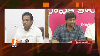 TRS MP Balka Suman Counter To Congress Leader Sridhar Babu Over Police Case Issues | iNews