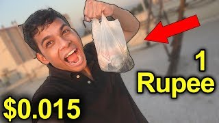 Cheapest Fast Food in India 1 Rupees