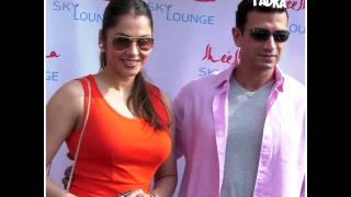 Celebrities at the Launch of Sheesha Sky Lounge