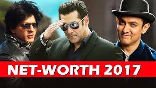 Net Worth Of Bollywood Khan's - Salman, Shahrukh, Aamir Khan