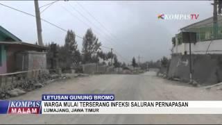 Warga Terserang ISPA Akibat Abu Vulkanik
