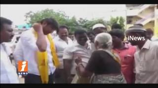 TDP Bhuma Brahmananda Reddy Shocking In Election Campaign | Nandyal By Election | iNews