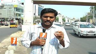 Report On Nishith Narayana Road Accident From Accident Spot at Jubilee Hills | iNews