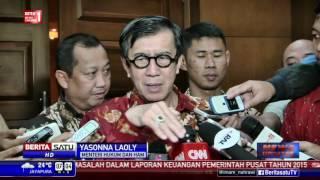 Yasonna: Ricuh Lapas Gorontalo karena Lemahnya Pengawasan