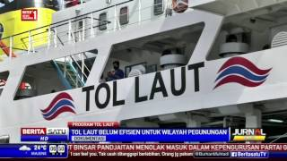 Tol Laut Berhasil Turunkan Harga Kebutuhan Pokok Indonesia Timur