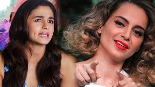 Alia Bhatt REACTS To Her FIGHT With Kangana Ranaut