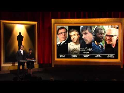 Raw- Oscar Nominees Announced News Video