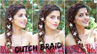How To : Easy Pulled Dutch Braid Tutorial | Braid Tutorials