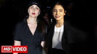 Kareena Kapoor And Anushka Sharma SPOTTED At Airport