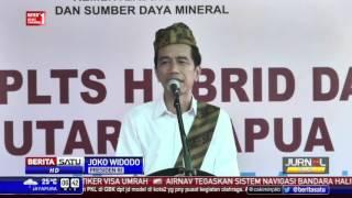 Jokowi Minta Kepala Daerah Permudah Pembebasan Lahan Pembangkit Listrik