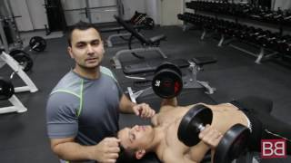 Add THICKNESS to your CHEST by doing CHEST PRESS, the right way! (Hindi / Punjabi)