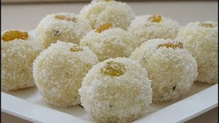 nariyal ladoo recipe / coconut ladoo easy recipe