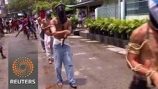 Philippines self-flagellation ritual News Video