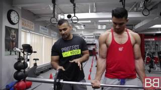 How to- Do WRIST CURLS for massive FOREARMS! (Hindi / Punjabi)