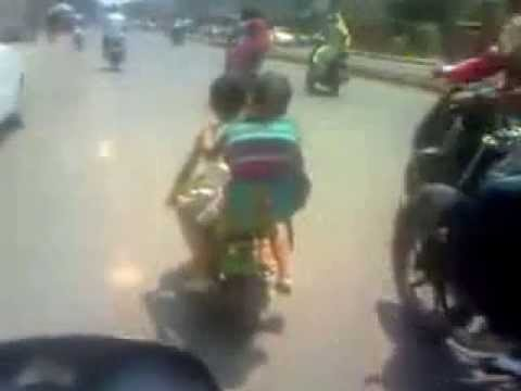 small bike very funny video Funny Video
