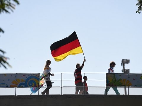 German Players Head to World Cup Final News Video
