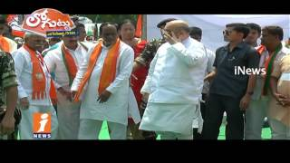 Secret Behind TRS Party Support To BJP Or Congress For President Election?   Loguttu   iNews