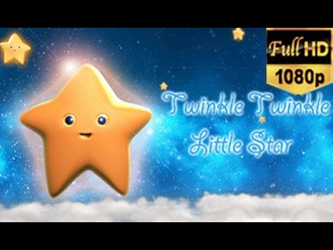 Twinkle Twinkle Little Star - English Nursery Rhyme