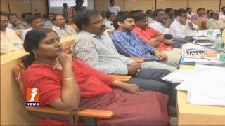 Minister Sidda Raghava  Rao Serious on Bankers | Nellore | iNews
