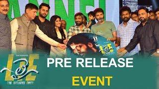 LIE Movie Pre-Release Event Nithin, Megha Akash Hanu Raghavapudi