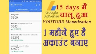 Youtube account and Adsense monetization within 1 month by pitara Channel