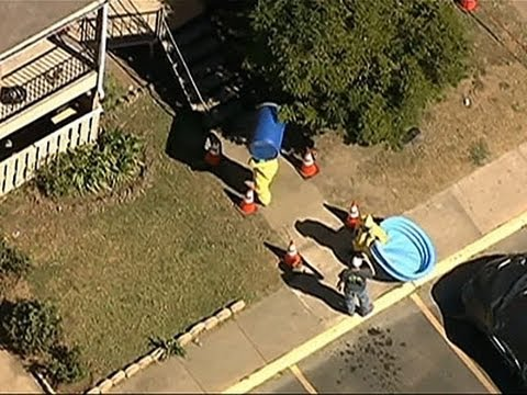 Crew Cleans TX Apartment of Quarantined Family News Video