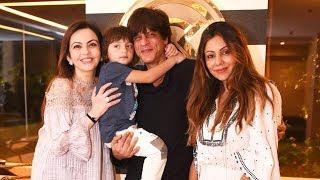 Shahrukh Khan, AbRam And Gauri Welcome Nita Ambani To Gauri Khan's Store