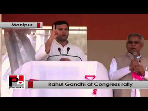 Rahul Gandhi- Congress won't impose anything on Manipur