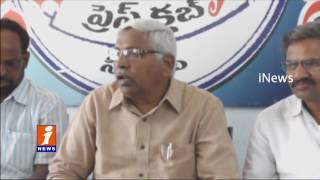 Telangana JAC Kodandaram Confirms Unemployment Rally | Telangana | iNews