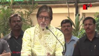 Amitabh Bachchan Celebrates 73rd Birthday with Media