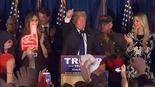 Supporters- Trump 'Not the Establishment' News Video