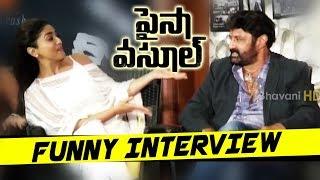 Paisa Vasool Movie Team Funny Interview Balakrishna, Shriya, Kyra Dutt, Muskaan Sethi