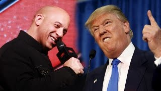 Vin Diesel's BEST REPLY On Donald Trump GOOD Or BAD