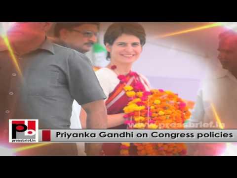 Charming personality Priyanka Gandhi Vadra - people's favourite