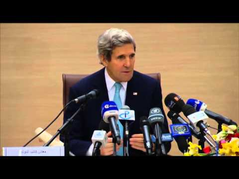 Kerry Urges Israel, Palestine to Lead News Video