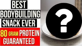 80 GRAMS PROTEIN IN 10 Mins - BEST BODYBUILDING HIGH PROTEIN SNACK