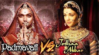 Deepika In Padmavati Vs Aishwarya In Jodha Akbar - Whose Regal Look Is Best