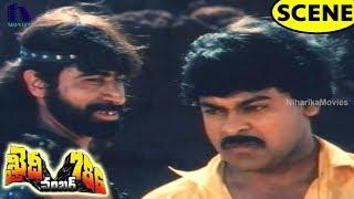 Chiranjeevi Stunning Action Fight Scene || Khaidi No.786 Movie Scenes