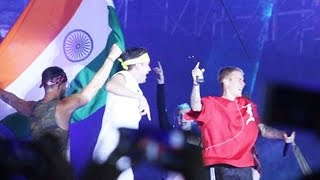 Justin Bieber PERFORMS With Indian Flag At Concert, Crowd Goes CRAZY At Concert