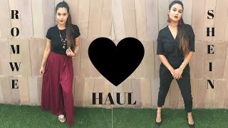 SHEIN AND ROMWE HAUL