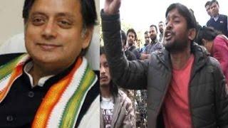 JNU Kanhaiya has qualities like Bhagat Singh, says Shashi Tharoor