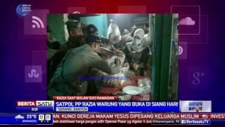 Razia Warung Makan di Serang Buka Saat Ramadan