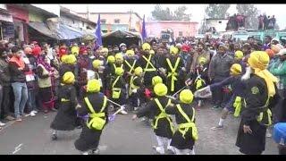 पुंछ में गुरु गोबिंद सिंह के प्रकाशोत्सव पर निकाला गया भव्य नगर कीर्तन
