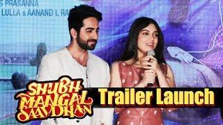 Shubh Mangal Saavdhan Trailer launch | Full Video | Ayushmann Khurrana, Bhumi Pednekar