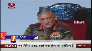 Army Chief Press Meet On Soldiers Not Use Social Media | Use Complaint Boxes | iNews