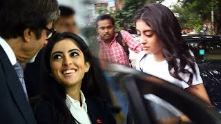Amitabh Bachchan's Granddaughter Navya Naveli Spotted At Salon