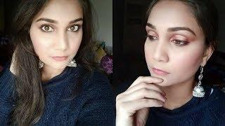 Flawless Base Spot Light Cut Crease Makeup | Nidhi Katiyar