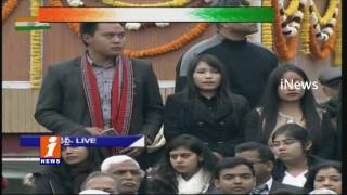 Ashok Chakra Presents To Havildar Hangpang Dada In 68th Republic Day events In Delhi | iNews