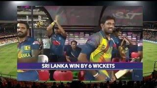 Sri lanka vs Afghanistan T20 2016 - sri lanka batting highlights and winning movement